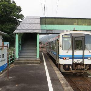 2016年8月山陰旅行11 早朝の三江線に乗る