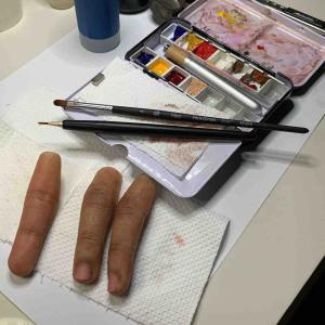 ステイン用の筆