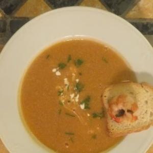 濃厚魚介のスープと冬の午後