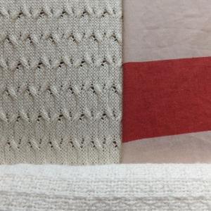 織り方が楽しい夏のコットンケット
