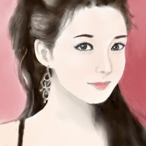 人物画11 「中国美人」