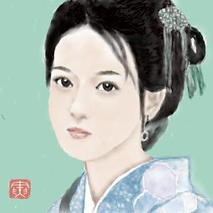 人物画12 「中国美人」