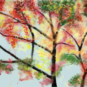 風景 「紅葉」