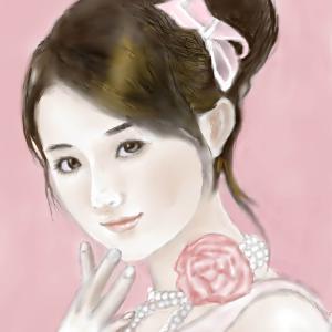 人物画 「中国美人 2」