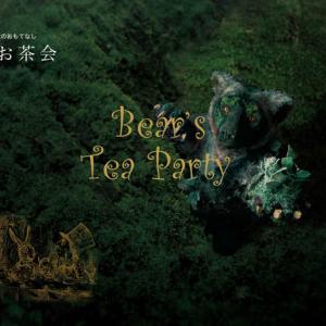 熊さん主催!キャンドルを灯したテーブル茶道イベント!