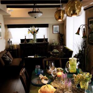 ボタニカルキャンドルのテーブルコーディネートでフィンガーフードレッスン♪