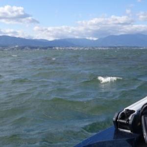 琵琶湖は木ノ浜でボイル祭り開催中