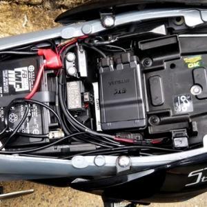 電熱グローブ用の配線をストトリに装着し初駆け・・・
