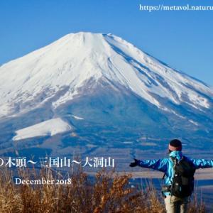 冬ハイク▲富士山どーーん!大展望が楽しめるトレッキング