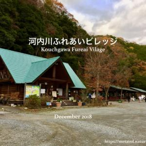 冬キャン△河内川ふれあいビレッジオートキャンプ場へ出撃!