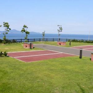 穏やかな瀬戸内海を一望できるオートキャンプ場、シーサイドコリドールへ出撃!