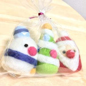 羊毛フェルトのマスコット〜クリスマスセット〜