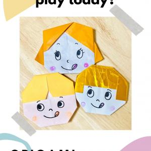 楽しい折り紙