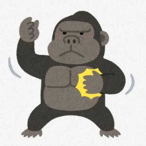 サルやら、ゴリラやら・・・「カオス」です。