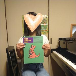 小4ちゃん「アルフレッドピアノライブラリー 導入コースD」が終わりました。