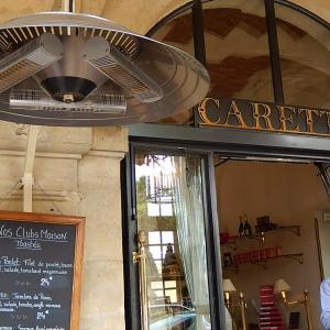 ヴォージュ広場の『Carette』(カレット)