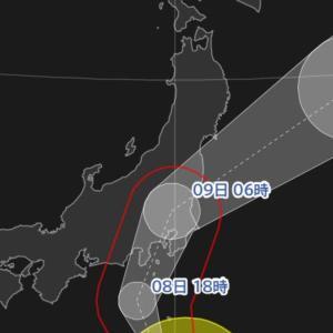 台風15号=ゴジラ!?