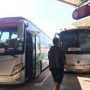 チェンマイからチェンライへグリーンバスで移動【予約方法と移動の流れを解説】