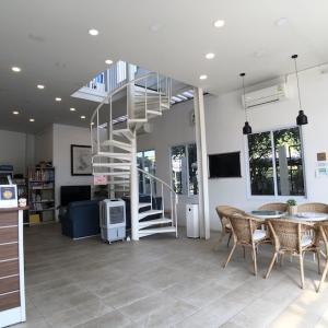 チェンライのゲストハウス「Connect Hostel」【共有スペースが広々】