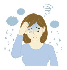 梅雨の体調管理