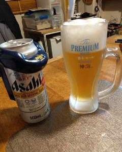 トレーニング明けのビールは美味い!!!