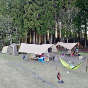 令和初めてのキャンプはリベンジ&グルキャン!その3