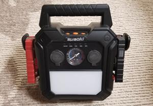 バッテリーを補助するスタータを購入しました!便利機能が満載です♪
