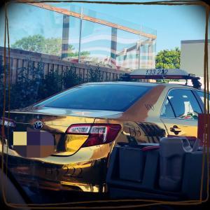 金色のタクシー