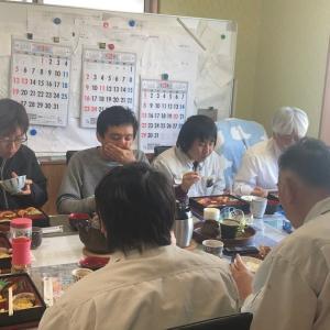 事務所にて2月誕生日会ランチ開催☆