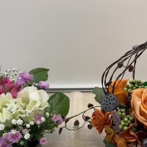 💐お花便り(生花と手作りプリザーブドフラワー)