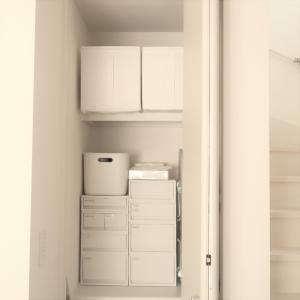 IKEAと無印で物置をスッキリ収納