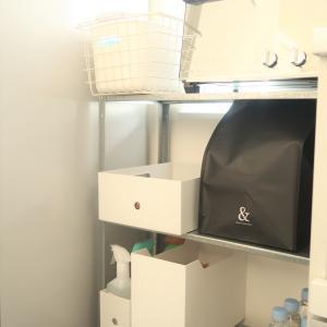 【キッチン】ファイルボックスを使った収納【無印、IKEA、ニトリ】
