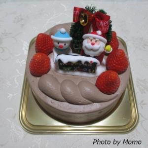 クリスマスケーキ第2弾は、定番の【白十字】☆彡