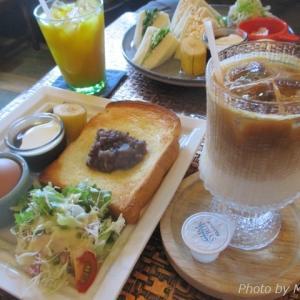 人気の【しろくまカフェ】で、まったり名古屋式モーニング♪