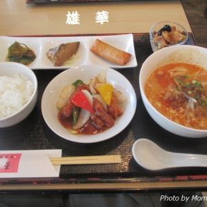 中華料理店:雄華(ゆうか)のボリューミーなレディースランチ♪
