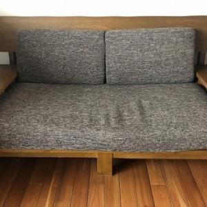 ソファーのクッションがヘタったら。。。