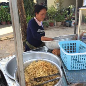 最終日カンボジアの屋台メシ