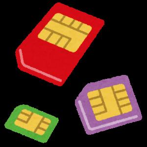 格安SIMの解約をやっと始めました。17枚→16枚。えっ?