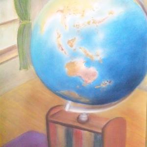 TADA氏作品(29) 地球儀