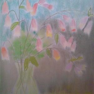 TACHI作品(70) ホタルブクロを活ける(2007年)