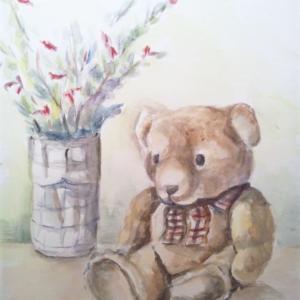 別館・MAI氏作品(19) ちょこんとクマさん