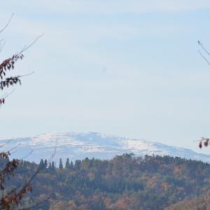 19.11.13 月山の雪