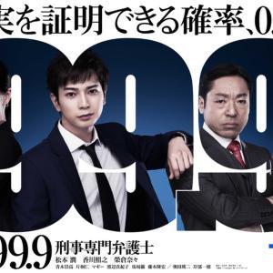 面白いドラマ 99.9
