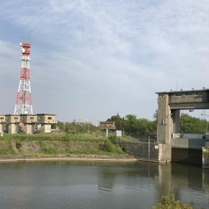 お散歩ラン18km(江戸川水門)