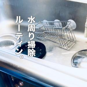 【vlog】水周り掃除は『放置掃除』がオススメです。