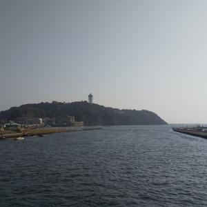 8月中旬 江ノ島大堤防