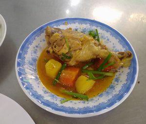 久しぶりの、鶏肉料理。