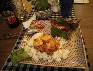 ⑥ カンボジアで食べた、うまいもの。