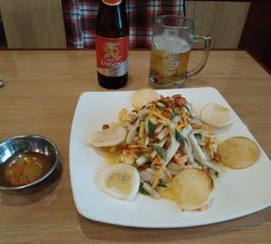 ベトナムでサラダと言えば、「ゴイ・ゴーセン」。