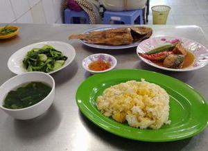 ベトナムの魚は、大胆です。